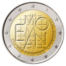 """Slovenië 2 Euro """"Emona"""" 2015"""