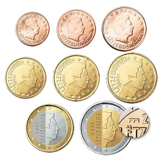 Luxemburg UNC Set 2018 met NL muntmeesterteken