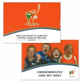 "Ierland BU Set ""Special Olympics"" 2003 met 5 euro"
