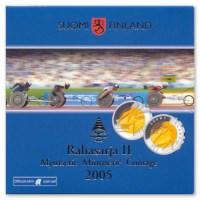 Finlande BU Set II 2005 avec 5 euros « Paralympiques »