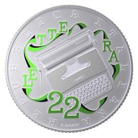 Italie 5 euros « Olivetti » 2020 Vert