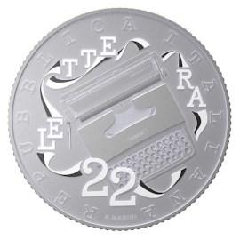 Italie 5 euros « Olivetti » 2020 Blanc