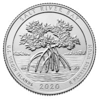 "US Quarter 53 ""Salt River Bay"" 2020 S"