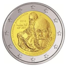 """Griekenland 2 Euro """"El Greco"""" 2014"""