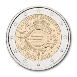 """Griekenland 2 Euro """"10 Jaar Euro"""" 2012"""