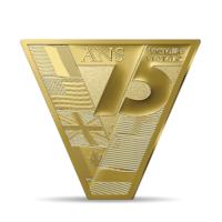 Frankrijk 200 euro '75 jaar Victory' Goud Proof