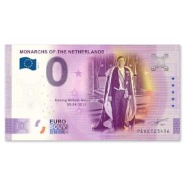 "0 Euro Biljet ""Willem-Alexander"""