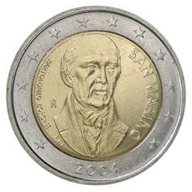 "San Marino 2 Euro ""Borghesi"" 2004"