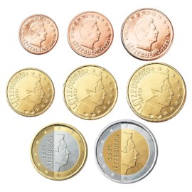 Luxemburg UNC Set 2005
