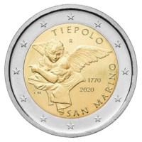 Saint-Marin 2 euros « Tiepolo » 2020