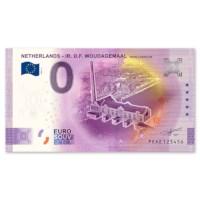 """0 Euro Biljet """"Woudagemaal"""" 2020"""