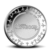 Stichting Opkikker Medal in Coincard