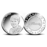 Stichting Opkikker penning Zilver Proof