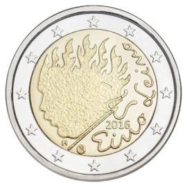 """Finland 2 Euro """"Eino Leino"""" 2016"""