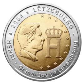 "Luxemburg 2 Euro ""Groothertog Henri"" 2004"