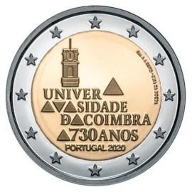 "Portugal 2 Euro ""Coimbra"" 2020"