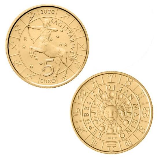 "San Marino 5 Euro ""Boogschutter"" 2020"