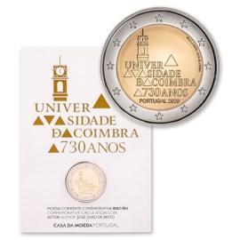 "Portugal 2 Euro ""Coimbra"" 2020 BU"
