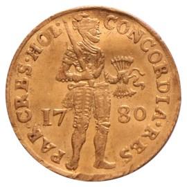 Gouden Dukaat Holland 1780 Zfr