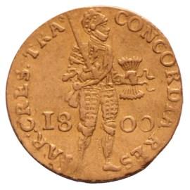 Gouden Dukaat Utrecht 1800 Zfr