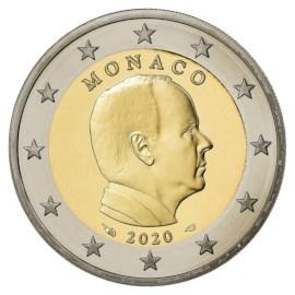 Monaco 2 Euro 2020 UNC