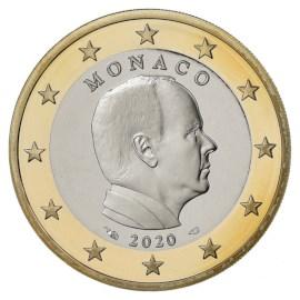 Monaco 1 Euro 2020 UNC