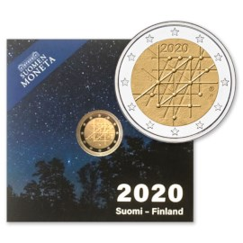 "Finland 2 Euro ""Turku"" 2020 Proof"