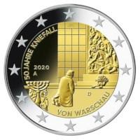 Allemagne 2 Euro Set « Varsovie » 2020