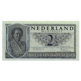 """2,5 Gulden """"Juliana"""" 1949 Pr"""
