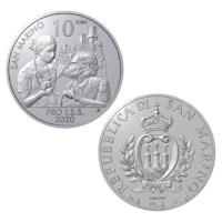 """San Marino 10 Euro """"Pro ISS"""" 2020"""