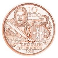 """Oostenrijk 10 Euro """"Standvastigheid"""" 2020 UNC"""
