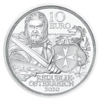 "Oostenrijk 10 Euro ""Standvastigheid"" 2020 BU"