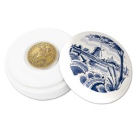 Official Restrike: Ducaton 2021 Gold 1 Ounce – Royal Delft Edition