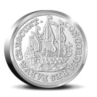 Officiële Herslag: Scheepjesschelling 2021 Zilver 2 ounce