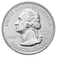 """US Quarter """"Marsh-Billings"""" 2020 D"""