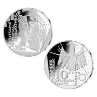 """Duitsland 10 Euro """"Nationale Bibliotheek"""" 2012"""