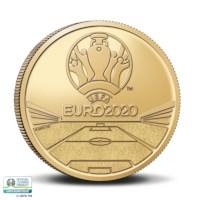2,5 euromunt België 2021 'UEFA EURO 2020' BU in coincard FR