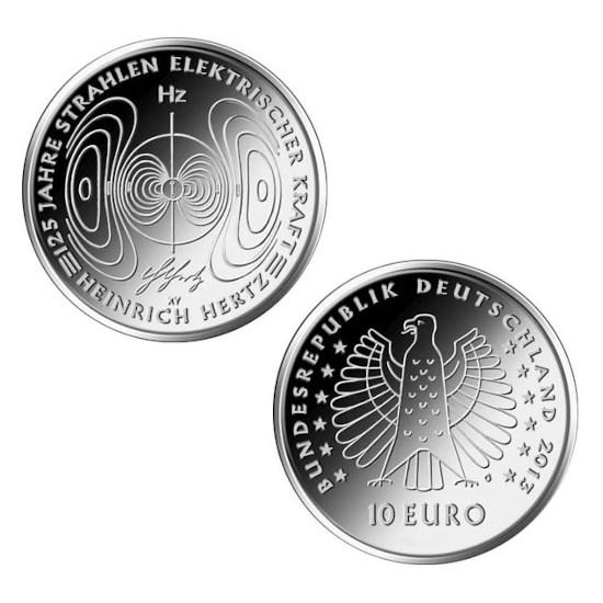 "Duitsland 10 Euro ""Hertz"" 2013"