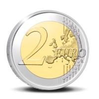 2 euromunt België 2021 '100 jaar BLEU' Proof in etui