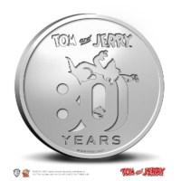80 jaar Tom en Jerry multiview penning in coincard