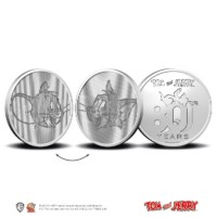 80 Years of Tom and Jerry Multiview Medal in Coincard