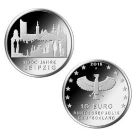 """Duitsland 10 Euro """"Leipzig"""" 2015"""