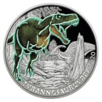 """Oostenrijk 3 Euro """"Tyrannosaurus"""" 2020"""