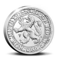 Officiële Herslag: Leeuwendaalder 2021 Zilver - Piedfort editie