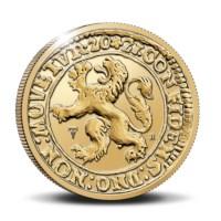 Officiële Herslag: Leeuwendaalder 2021 Goud 1 ounce