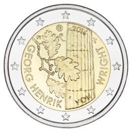 """Finland 2 Euro """"Von Wright"""" 2016"""