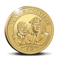 "Belgium 25 Euro Coin 2021 ""75 Years of Blake and Mortimer"" Gold Proof"