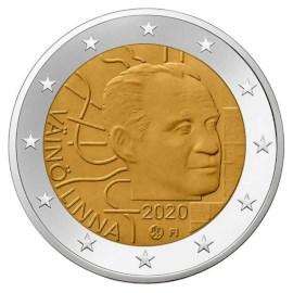 """Finland 2 Euro """"Väinö Linna"""" 2020"""
