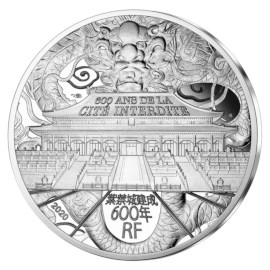 "France 10 Euro ""Forbidden City"" 2020"