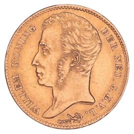 Gouden 10 Gulden Willem I 1825 B Pr